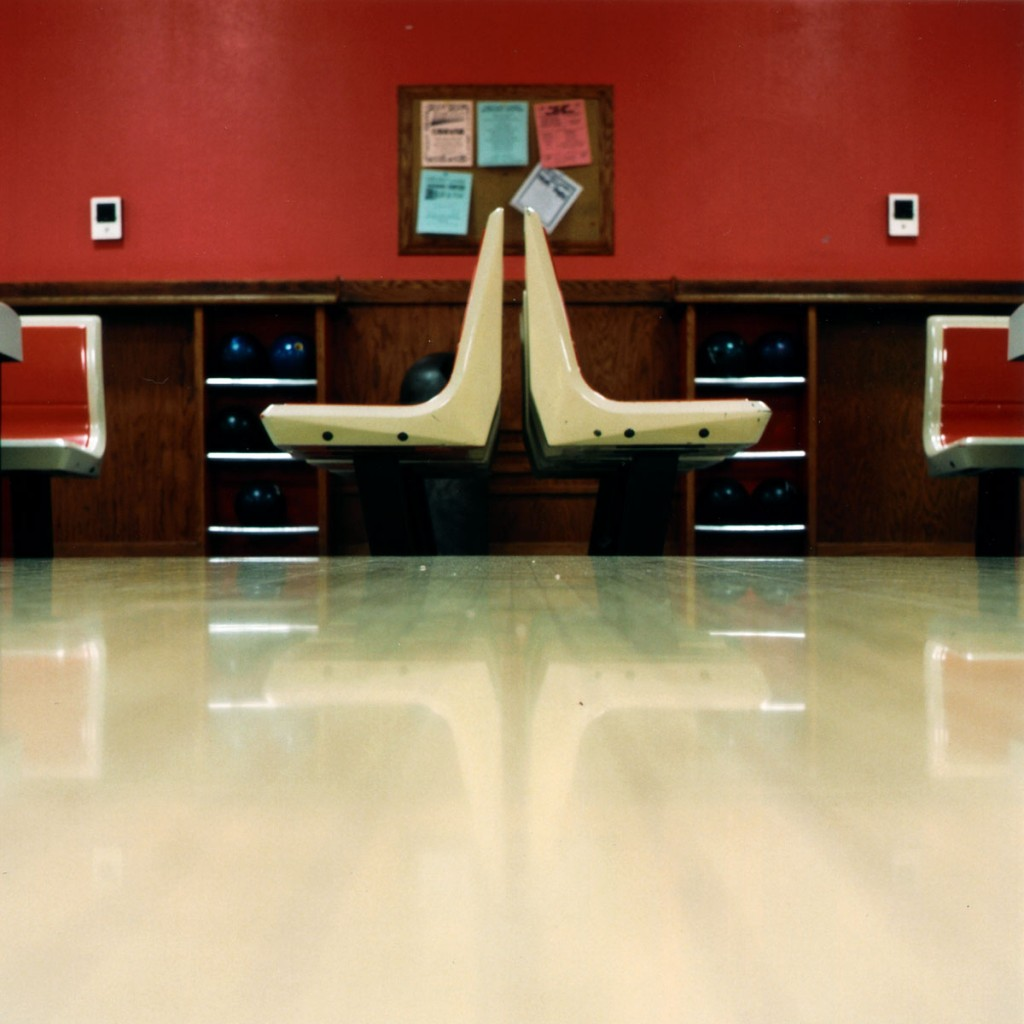 chairs at bowling alley