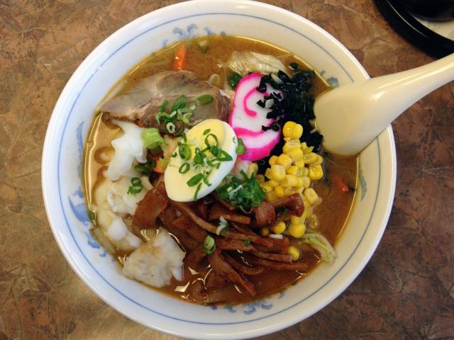 Hokkaido ramen from Kaimuki, Honolulu